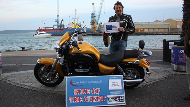 Coles Miller Dream Machines - Winner Ian Middleton 08 May 2013