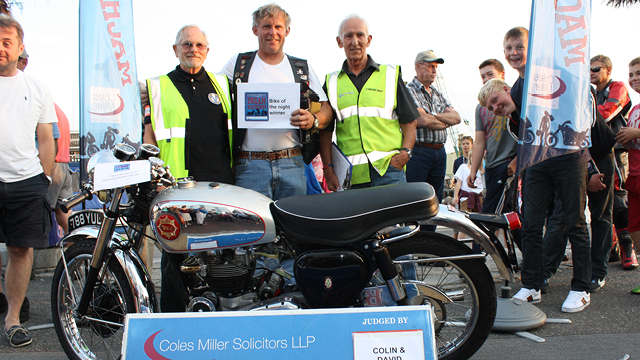 Coles Miller Dream Machines - Winner Paul Revell 27 August 2013