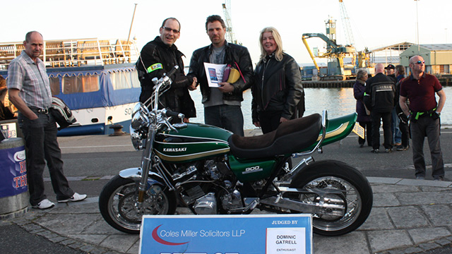 Coles Miller Dream Machines - Winner Dave Turner 23 April 2013