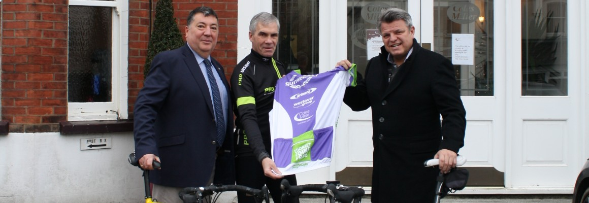 Macmillan Dorset Bike Ride sponsorship