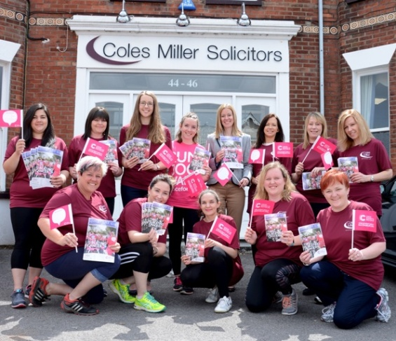 Coles Miller Race for Life runners 2017