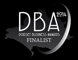 Dorset Business Awards Finalist 2014 Logo