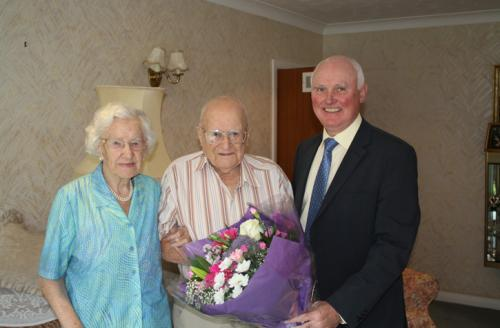 Coles Miller founder Howard Cole, wife Betty Cole, Coles Miller consultant David Parfitt