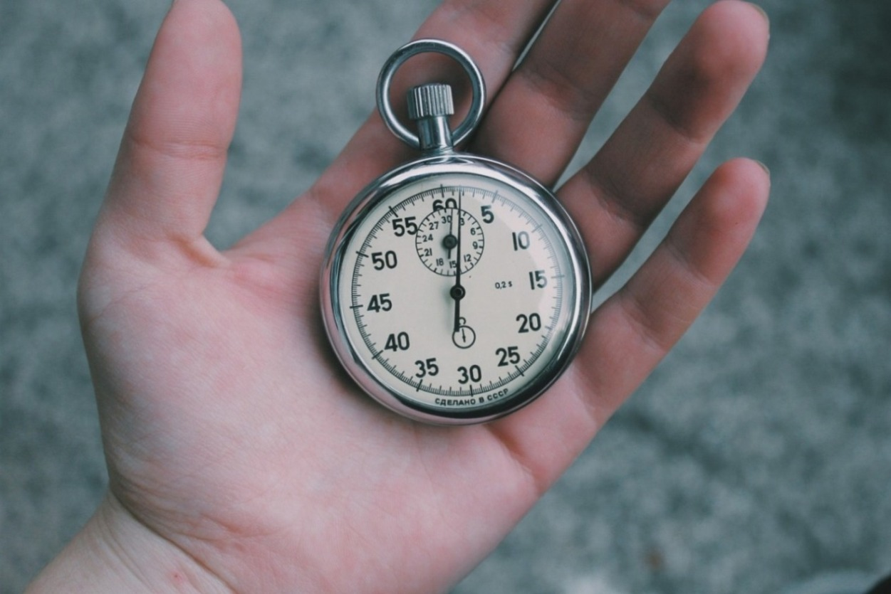 Stopwatch - Length Of Time Needed To Claim Compensation